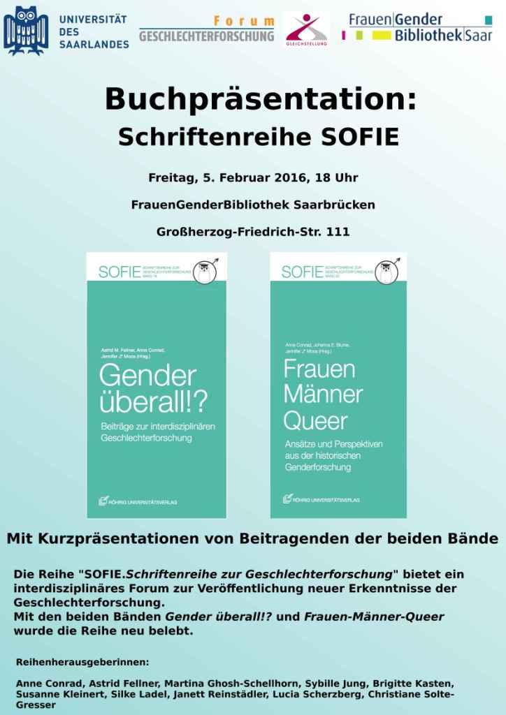 Buchpräsentation zur Gender-Forschung