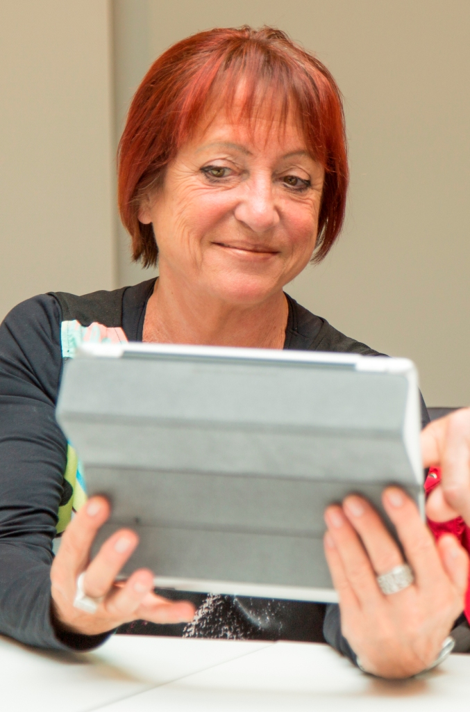 Kommunikation mit Tablets