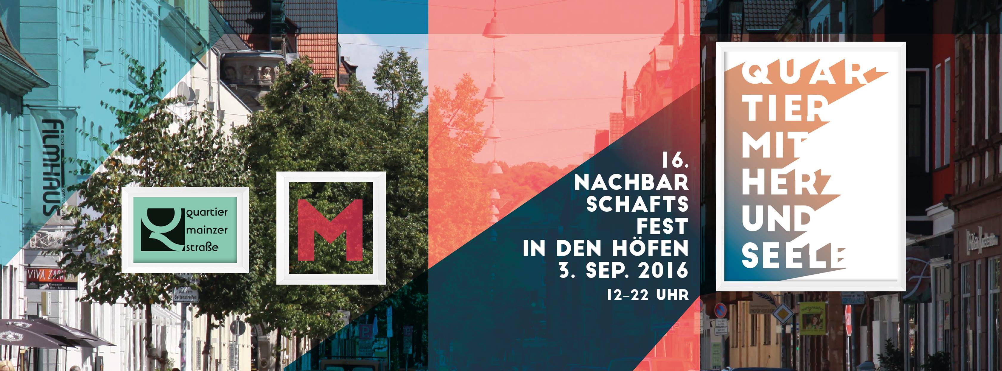 Infostand der FGBS beim Nachbarschaftsfest Mainzer Straße