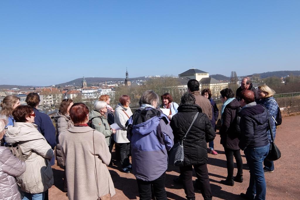 Frauenhistorischer Stadtrundgang Saarbrücken