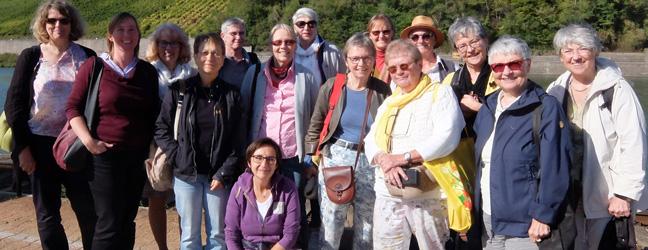 Die Förderinnen der FrauenGenderBibliothek Saar beim Ausflug 2019