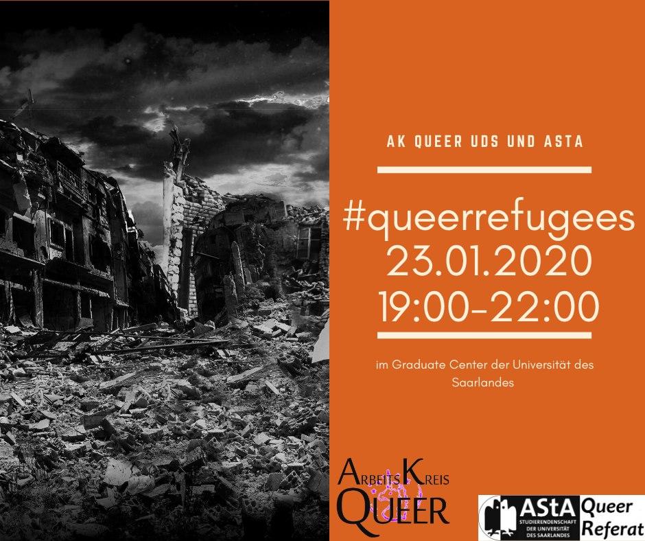 Themenabend #queerrefugees (queere Geflüchtete)