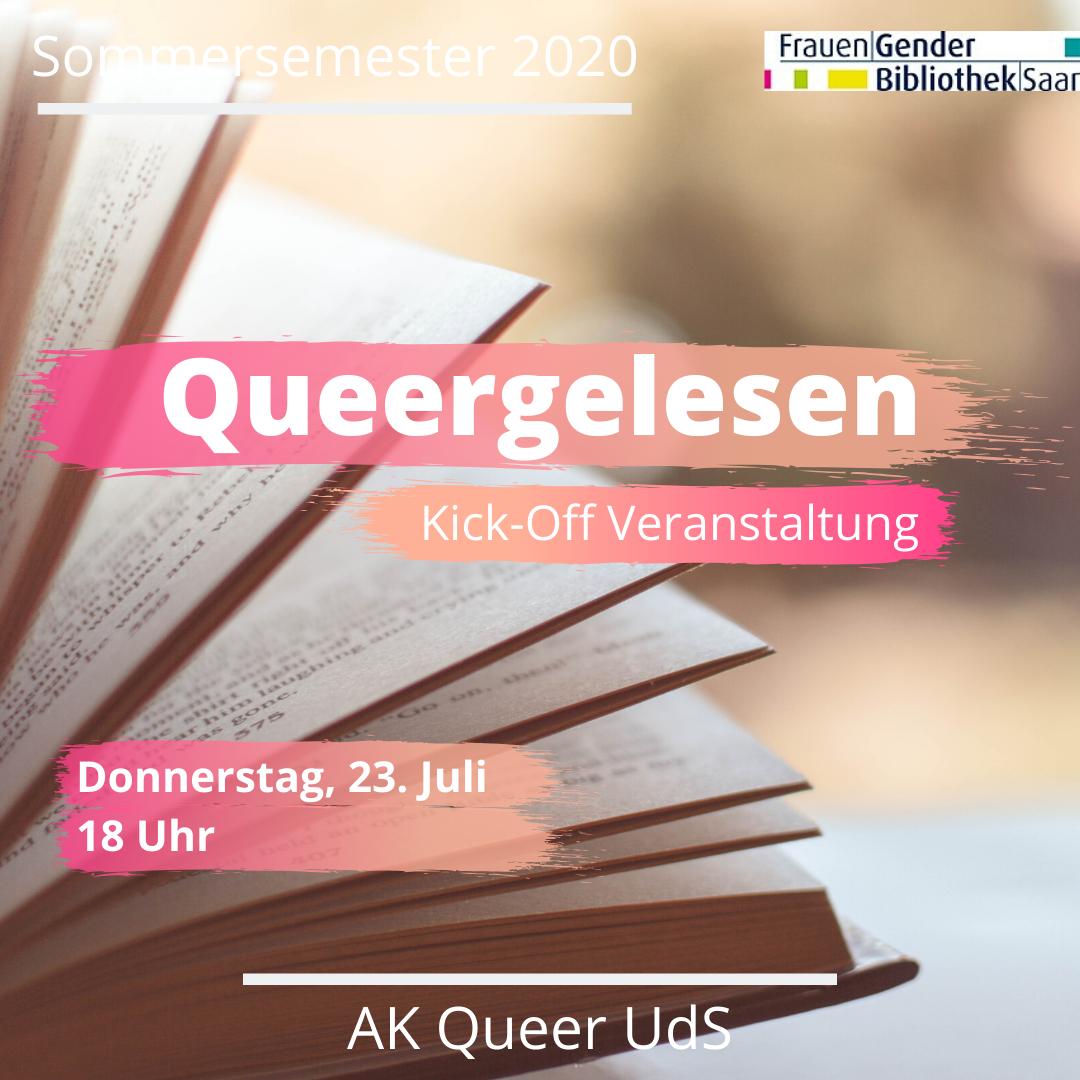 """Neuer queer-feministischer Lesekreis """"Queergelesen"""""""