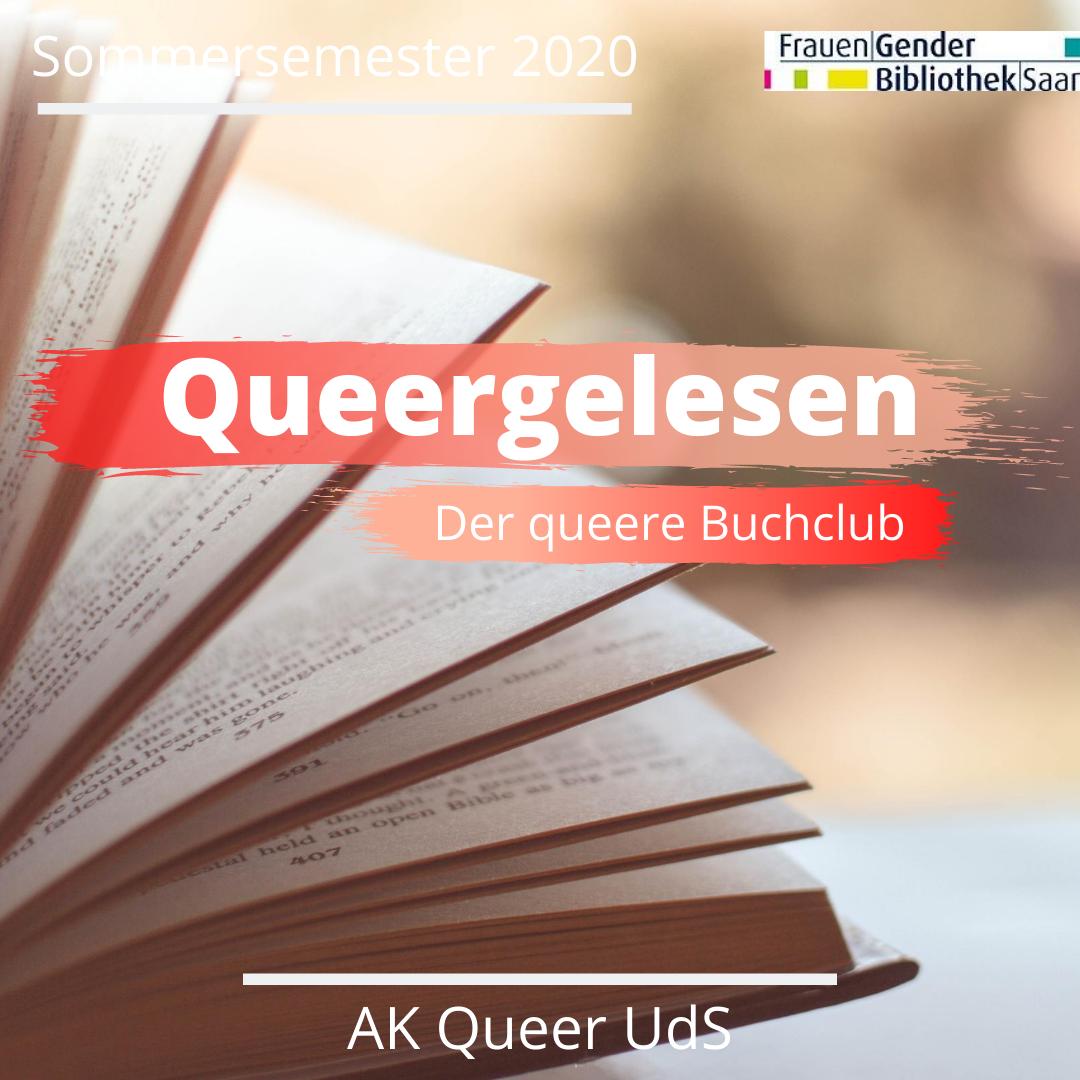 """Nächstes Treffen von """"Queergelesen"""" am Mittwoch, 14.10.2020, um 19:30 Uhr"""